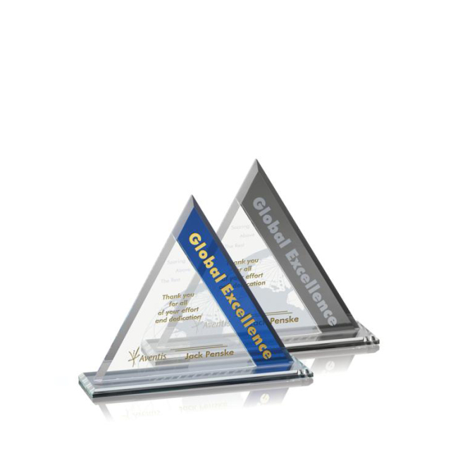 New Design Carved Concave Crystal Glass Shield Awards for High School Graduation Souvenir