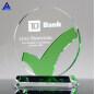 Manufacturers Crystal Awards Plaque For Custom Logo Engraving