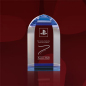 Custom Made K9 Glass Award Engraved Acrylic New Design Crystal Trophy Award For Sport Manufacture