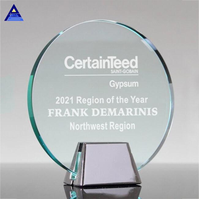 Good Quality Cheap Custom Design K5 Glass Crystal Trophy Awards