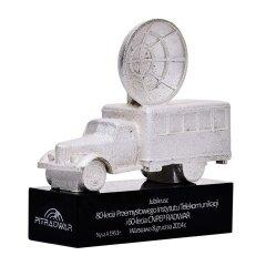 Modern Design Quality Personalized Crystal Car Design Award With Black Base