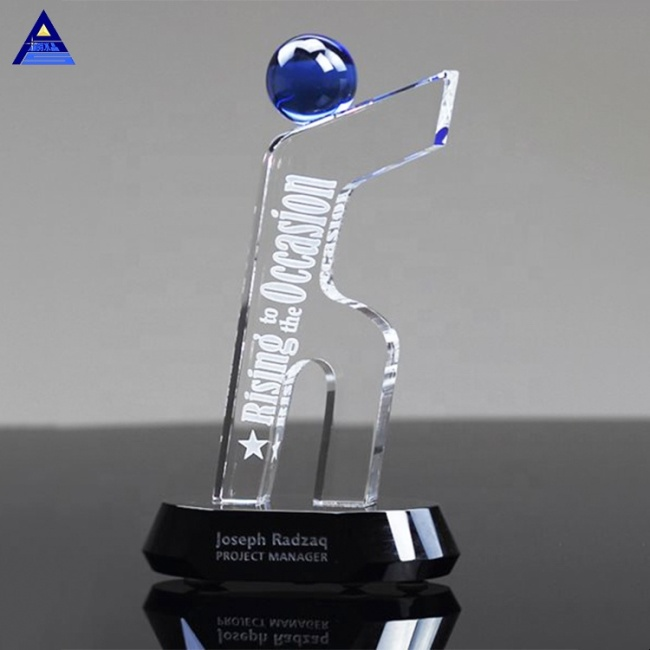 Coalition Figure Crystal Teamwork Awards for Business Corproate Souvenirs