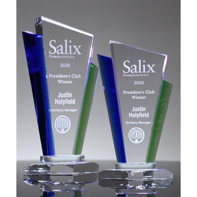 2019 Newest Style Sublimation Crystal Iceberg Award Plaques For Engraving