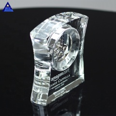 China Manufacturer Fashion Associate Crystal Clock Wedding Favors For Gift