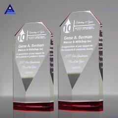 Wholesale Custom Clear 3D Obelisk Laser Crystal Gift For Craft