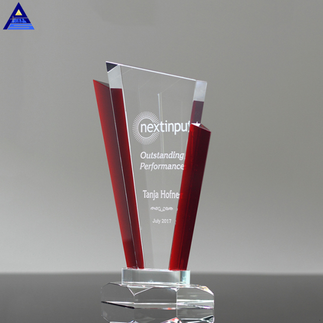 Wholesale New Design Diamond Crystal Trophy Award