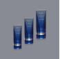 Logo Engraved Big Crystal Trophy Award, Crystal Obelisk Block For Promotional Items