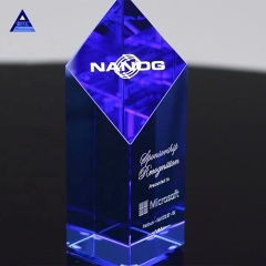 Pujiang High Quality Customized The Obelisk Crystal Gift
