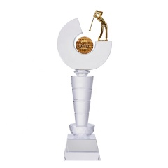 Made In China Gold Plated Ball Sports Metal Awards Bodybuilding Trophy For Sports Awards