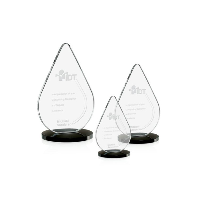High Quality and wholesale crystal award trophy with color printing award trophy crystal