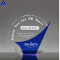 Custom High Grade Cheap Crystal Glass Trophy For Corporate Honor