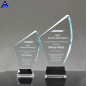 Design Crystal Blank Awards And Trophy Glass Plaque For Business Souvenir