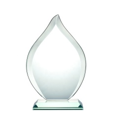 2020 Newest Design Exquisite K9 Crystal Glass Award Plaque From Factory Wholesale