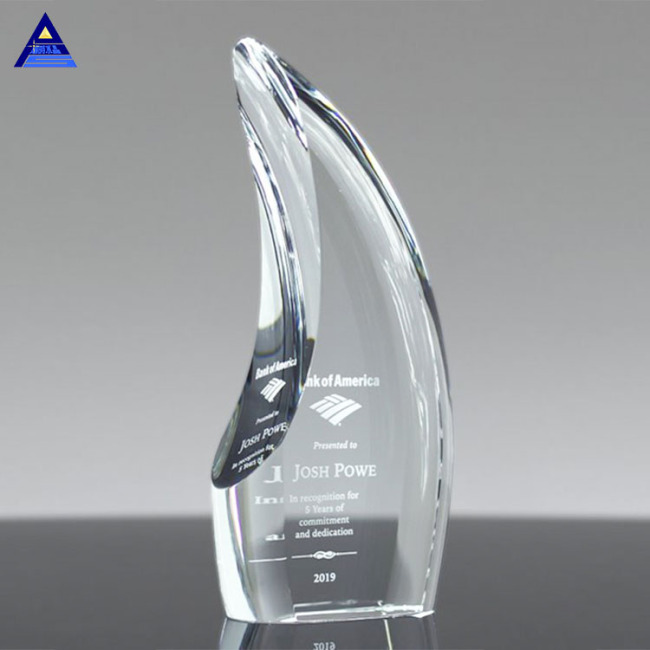 Pujiang Factory Wholesale Cheap Crystal Trophy