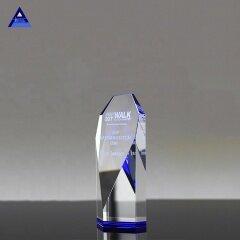Wholesale Colored Obelisk Shaped K9 Unique Crystal Trophy