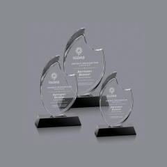 wholesale crystal trophy latest design custom made crystal trophy
