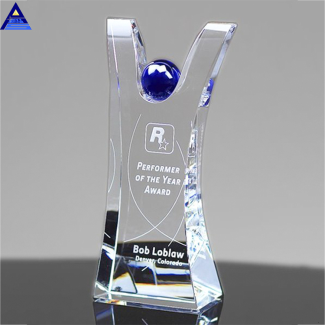 2019 Promotional Direct Wholesale Cheap Custom Diamond Laser Blank Crystal Award