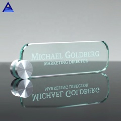 Hot Selling High Quality Cheap Glass Trophy Award,Laser Etched Blank Glass Award