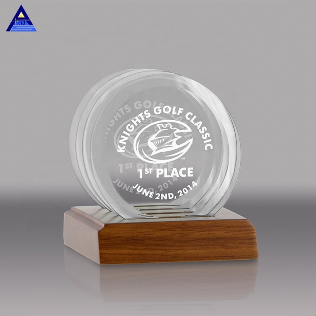 Wholesale 3D Laser Engraving Optical K9 Crystal Laser Engraved Crystal Wedding Gifts For Guests