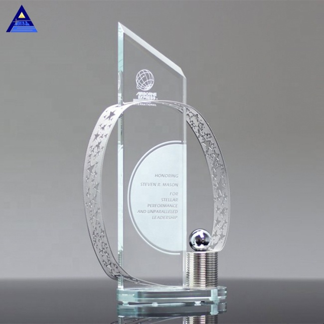 China Manufacturer K9 Celestial Crystal Chrome Awards And Trophies