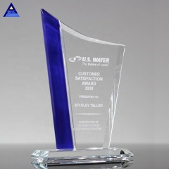China Wholesale High Quality Sapphire Sweep Award Trophy For Modern Design