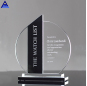 Wholesale Optical Business Crystal Art Glass Shield Awards For Plaque