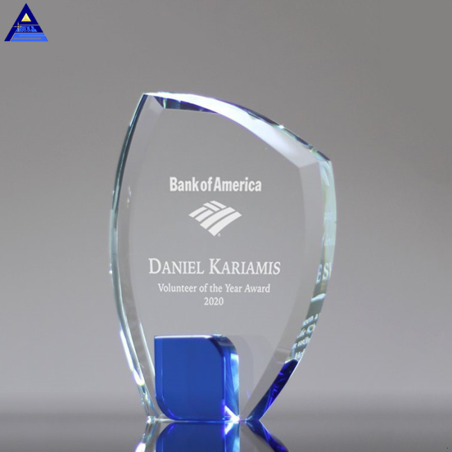 Processing Customized Competitive K9 Blank Glass Crystal Award Plaque
