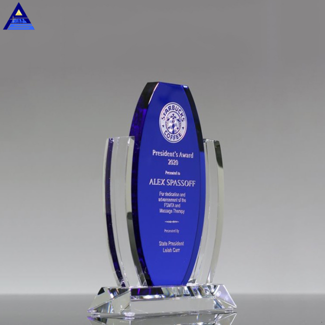 Hot Selling Crystal Trophy And Award With Low Price