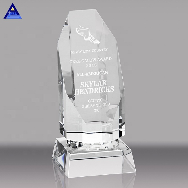 Crystal Trophy Custom Creative Lettering Competitions Championship Souvenir Sports Trophy