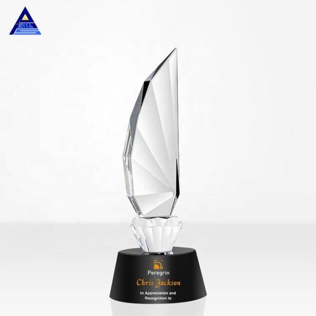 Business Wedding Gift Medal Fishing Award Figurine Baseball Crystal Dance Trophy