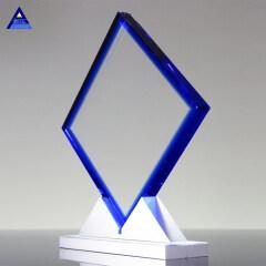 Fashion Supply Wholesale Alumina Diamond Award Folk Crystal Gift Craft