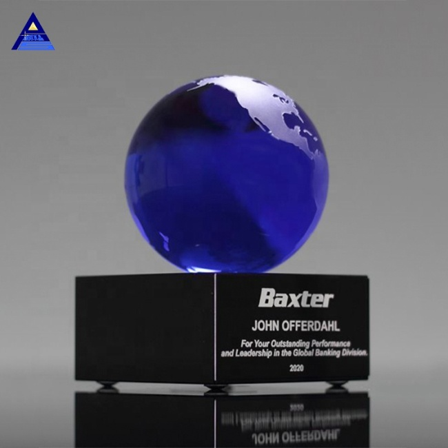 Latest Design Awards Clear Glass Crystal Globe Centerpieces