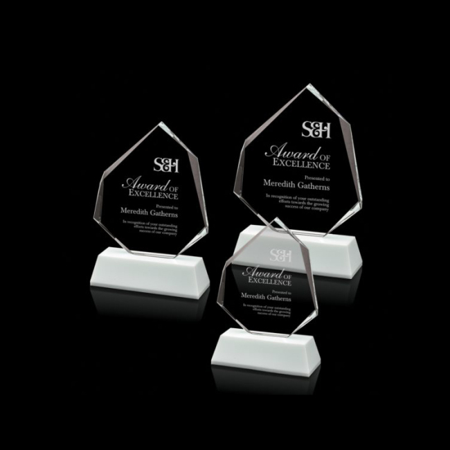 Wholesale Products Surface Engraving Plaque Crystal Award for Corporate Sports Gifts