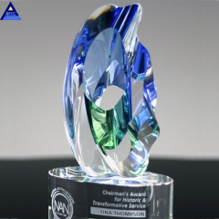 2019 New Design Glass Trophy Award With Good Quality