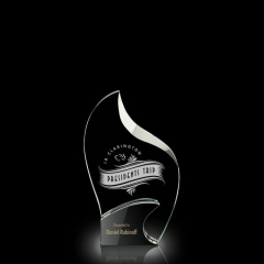 pujiang crystal trophy award trophy crystal crystal and wood trophy