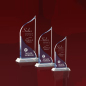 Customize Corporate Gift Clear Crystal Craft Engraving Cube Plates Awards Cheap Sports Crystal Trophy Award