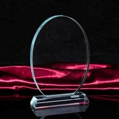 Custom Quality 3D Engrave Blank Crystal Trophy/Award/Plaque/Trophy Crystal