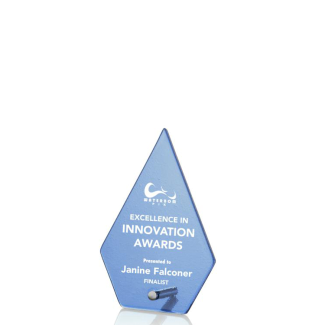 Beautiful High Quality Blank K9 Radiant Clear Crystal Trophy Atchison Diamond Award