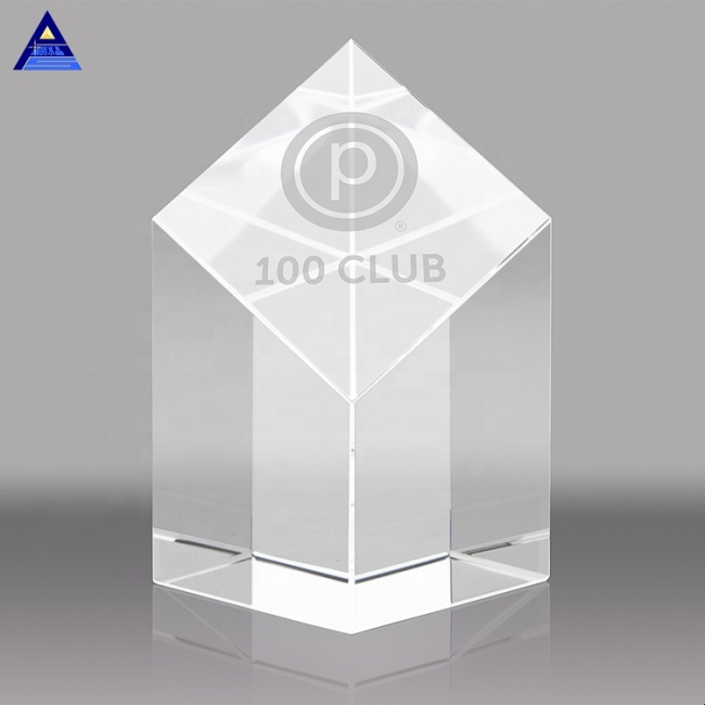 Beautiful 3D Laser Crystal Trophy & Crystal Award,3D Laser Crystal