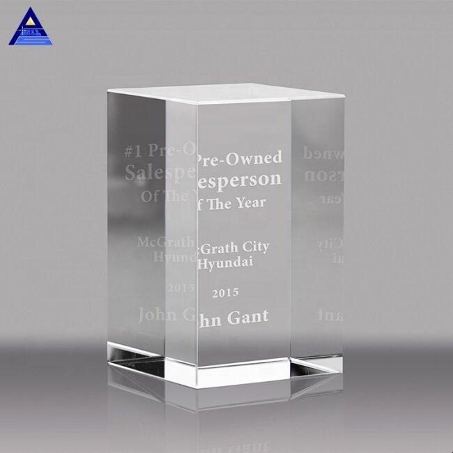 Creative Various Faced Blank K9 Crystal Block 3D Laser Engraving Glass Crystal Souvenir Gift