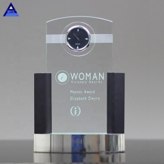 Modern Style Home Or Car Decoration Wedding Favor Neopolitan Crystal Clock