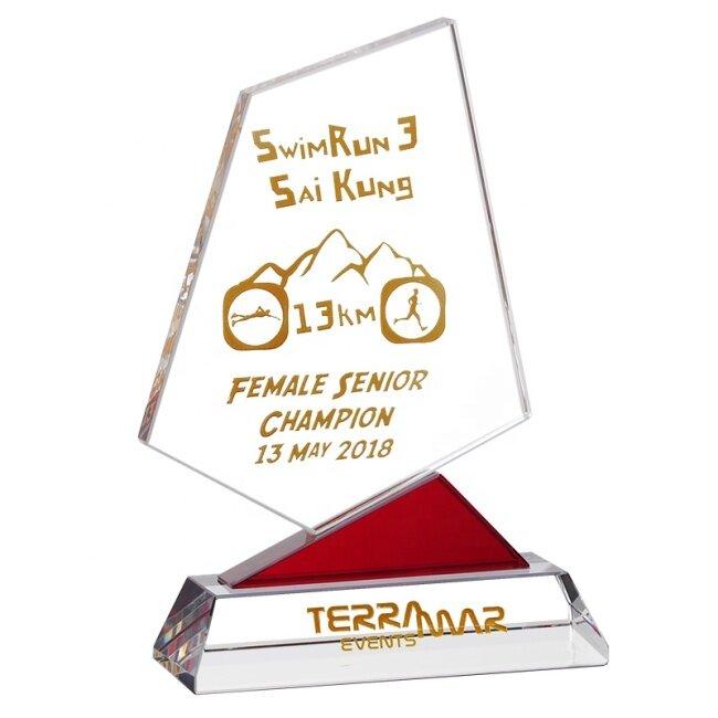 Crystal Shield Award Trophy Sports Medal Crystal Award Crystal Trophy Blank