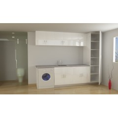 Laundry cabinet 003