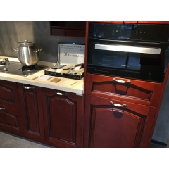 Solid wood kitchen cabinet 012