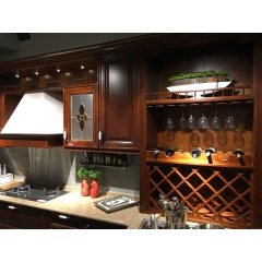 Solid wood kitchen cabinet 014