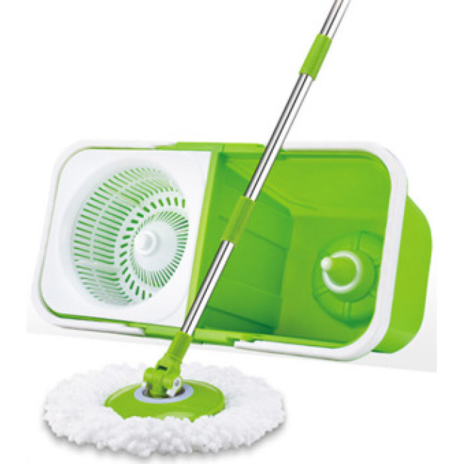 Foldable spin mop double buckets BN201301