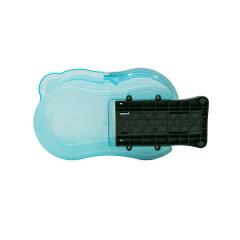 Transparent color pedal magic mop magic spin mop
