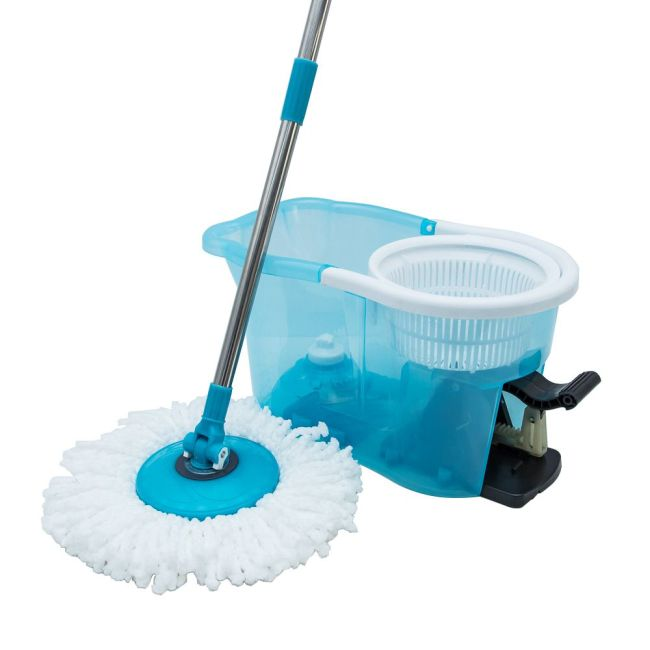 100 persent new PP cleaning spin bucket magic microfiber mop magic mop