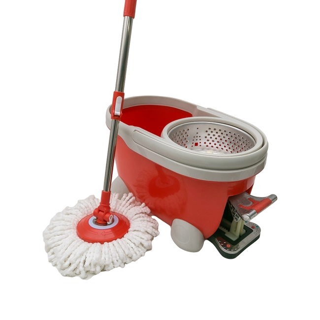 Dulex high quality household magic mop plastic bucket tornado easy mop