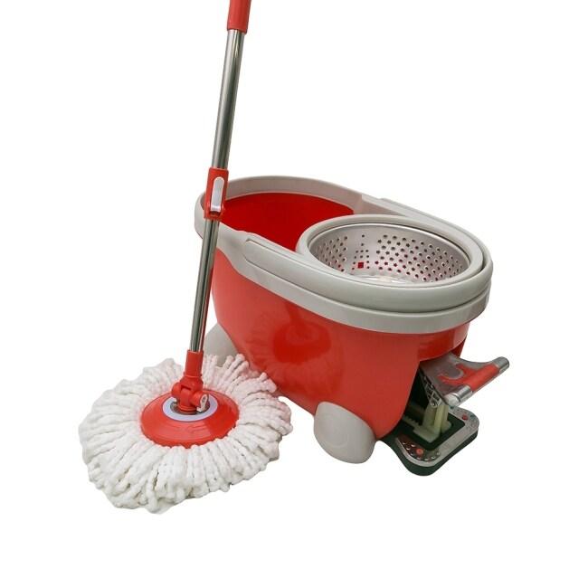 Dulex high quality household magic mop plastic bucket tornado easy mop